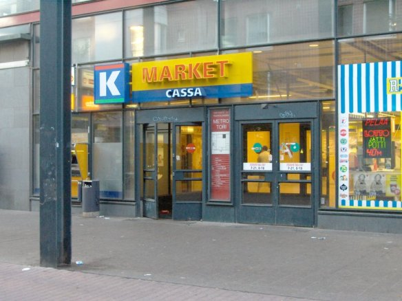 K-market_cassa_Helsingin_Ruoholahdessa